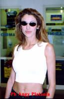 Catania - Adriana Volpe all'aeroporto  - Catania (3474 clic)