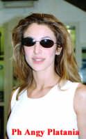 Catania - Adriana Volpe all'aeroporto  - Catania (3050 clic)