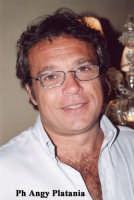 Taormina - L'attore Claudio Amendola in posa  - Taormina (8440 clic)