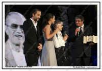 Taormina, Natri d'argento 2009 Beppe Fiorello riceve il premio Nino Manfredi Ph Angela Platania   - Taormina (3849 clic)