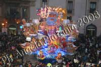 Carnevale di Acireale 2008- Carro Allegorico Grottesco 3 classificato -Chimera- Foto Angela Platania  - Acireale (1834 clic)