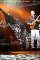 Pino Mango a Fiumefreddo di Sicilia. Ph Angela Platania (Un bellissimo concerto..)  - Fiumefreddo di sicilia (2486 clic)