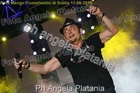 Pino Mango a Fiumefreddo di Sicilia. Ph Angela Platania (Un bellissimo concerto..)  - Fiumefreddo di sicilia (2944 clic)