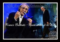 Battiato live Franco Battiato in concerto a Biancavilla. Ph Angela Platania  - Biancavilla (2939 clic)