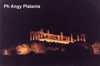 Agrigento - Valle dei templi di notte  - Agrigento (4344 clic)