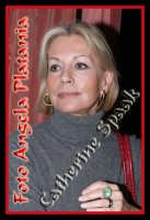 L'austera Catherine Spaak- Foto Angela Platania  - Catania (1077 clic)