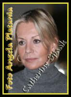 L'austera Catherine Spaak- Foto Angela Platania  - Catania (1243 clic)