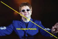 Taormina - Elton Jhon al teatro Antico   - Taormina (4026 clic)