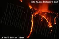L'eruzione lavica vista da Giarre: lo spettacolo che la natura ci offre gratis- Ph Angela Platania  - Giarre (2012 clic)