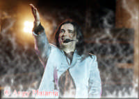 Renato Zero allo stadio Cibali di CATANIA. Foto trattata con filtro  - Catania (4668 clic)