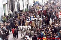 Festa di Sant'AGATA - Processione Carrozza del Senato -Via Etnea  - Catania (6149 clic)