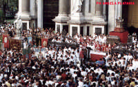 Festa di Sant'AGATA - Un momento particolare della festa (agosto)  - Catania (2262 clic)