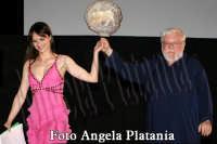 Taormina Fim Fest Giugno 2008. Lorena Bianchetti con Paolo VILLAGGIO- Foto Angela Platania  - Taormina (2871 clic)