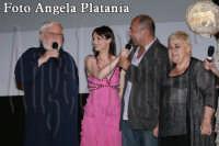 Taormina Fim Fest Giugno 2008. Villaggio, Bianchetti, Ozpetek,Serra Yilmaz - Foto Angela Platania  - Taormina (2620 clic)