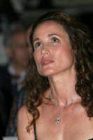 L'attrice Andie McDowell  - Taormina (4674 clic)