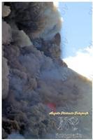 Etna Fiamme fuoco nuvole fumo e tanta magia ph angela platania  - Sant'alfio (1819 clic)