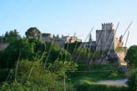 Una veduta del castello di Lombardia visto dalla Rupe di Cerere- Ph Angela Platania ENNA ANGELA PLAT