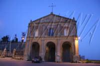 Chiesa di Montesalvo al tramonto- Ph Angela Platania ENNA ANGELA PLATANIA