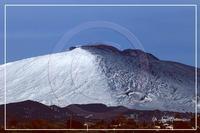 Etna in bianco ne nero lo spettacolo piu' bello del mondo  - Bronte (432 clic)