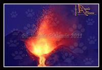 Ancora Magia L'etna in eruzione. Ph Angela Platania  - Zafferana etnea (3047 clic)