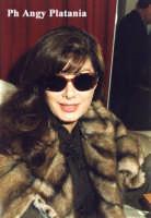 Catania - L'attrice Edwige Fenech in posa  - Catania (4182 clic)