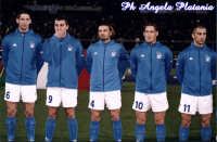 Catania - Stadio Cibali - Formazione parziale dell'Italia  - Catania (4232 clic)