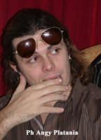 Catania - Gianluca Grignani in attesa di essere intervistato  - Catania (3704 clic)