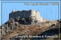 Il castello Belvedere fotografato dalla strada impervia, fotografato con un 200 mm + duplicatore di focale- Ph Angela Platania  - Fiumedinisi (4877 clic)