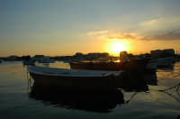 Tramonto,porto di Marzamemi  - Marzamemi (11300 clic)