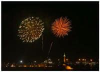 La magia dei fuochi d'artificio..  - Messina (3619 clic)