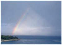 L'arcobaleno sul mare...  - Messina (6608 clic)