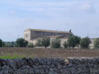 Vista panoramica con muro di pietra a secco Veduta dalla S.P.17 C.da Gisira Casa della Fam.Modica  N