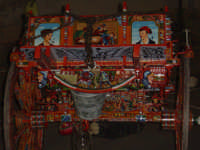 Particolare carretto siciliano Particolare decorazione di un carretto siciliano  - Rosolini (4729 clic)