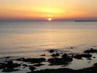 tramonto su mazara-pasquetta 2007  - Mazara del vallo (4612 clic)