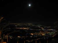 Erice di notte: la vallata  - Erice (2857 clic)