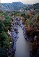 fiume alcantara.  confine fra le province di catania e messina  - Castiglione di sicilia (5810 clic)