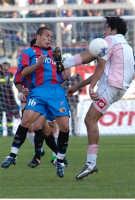 catania calcio: contrasto fra giallombardo(ct) e toni(pa)  - Catania (3290 clic)