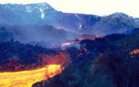 etna: colata lavica  - Nicolosi (6341 clic)