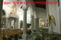 interno cattedrale ss. annunziata  - Forza d'agrò (6101 clic)