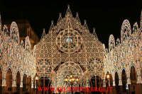 particolare dell'illuminazione della piazza san mauro a viagrande  - Viagrande (3538 clic)