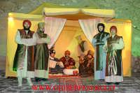 presepe vivente: particolare di tenda dei re magi  - Agira (9838 clic)
