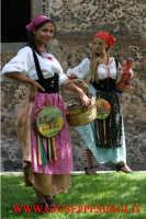 sagra della vendemmia: donne con costumi siciliani  - Viagrande (20709 clic)