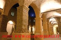 interno chiostro visto di sera  - Forza d'agrò (9812 clic)
