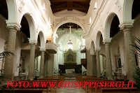 interno cattedrale - SS ANNUNZIATA  - Forza d'agrò (7040 clic)