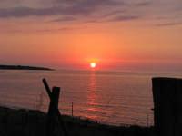 tramonto sul mare   - Marina di caronia (5501 clic)