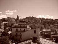 Vista antica  di Agira, dalla parte bassa.  - Agira (3396 clic)