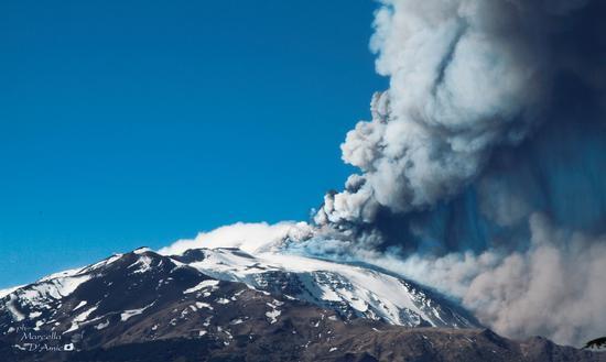 Eruzione Etna -  - inserita il 18-Apr-13