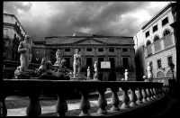 Palermo, Piazza e Fontana Pretoria. PALERMO Carlo Pollaci