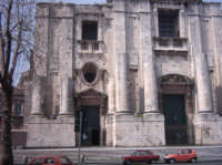 PIAZZA DANTE-Chiesa di San Nicola  - Catania (2357 clic)