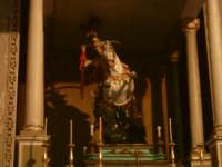 La statua di S.Giorgio all'interno del duomo  - Modica (4340 clic)